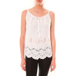 Vêtements Femme Débardeurs / T-shirts sans manche Dress Code Debardeur HS-1019  Blanc Blanc