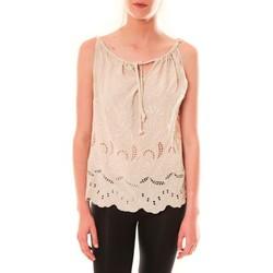 Vêtements Femme Débardeurs / T-shirts sans manche Dress Code Debardeur HS-1019  Beige Beige