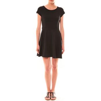 Vêtements Femme Robes courtes Carla Conti Robe LC-0421  Noire Noir