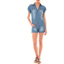 Vêtements Femme Combinaisons / Salopettes Dress Code Combinaison F259  Denim Bleu