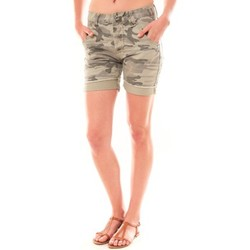 Vêtements Femme Shorts / Bermudas Dress Code Bermuda RX911  Kaki Vert