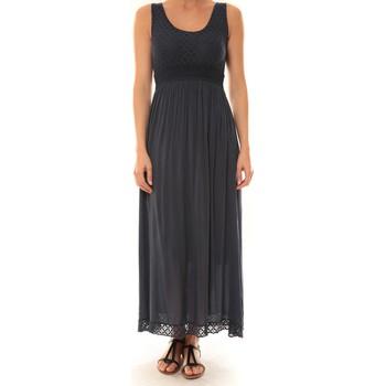 Vêtements Femme Robes longues Carla Conti Robe Z1392  Marine Bleu