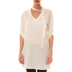 Vêtements Femme Tops / Blouses Carla Conti Robe 156  Blanche Blanc