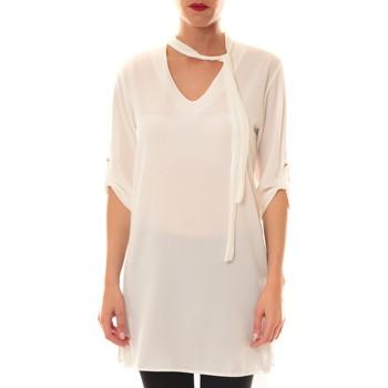 Tops / Blouses Carla Conti Robe 156  Blanche