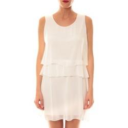 Vêtements Femme Robes courtes Carla Conti Robe TROIS  Blanche Blanc