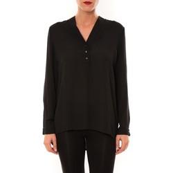 Vêtements Femme Tops / Blouses Carla Conti Blouse M3060 noir Noir