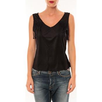 Débardeurs / T-shirts sans manche Nina Rocca Top MC1998 noir