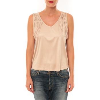 Débardeurs / T-shirts sans manche Nina Rocca Top MC1998 beige