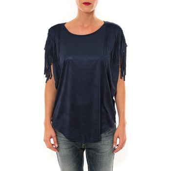 T-shirts manches courtes Nina Rocca Top C1844 marine