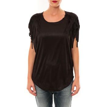 T-shirts manches courtes Nina Rocca Top C1844 noir