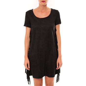 Vêtements Femme Robes courtes De Fil En Aiguille Robe MA8495 noir Noir