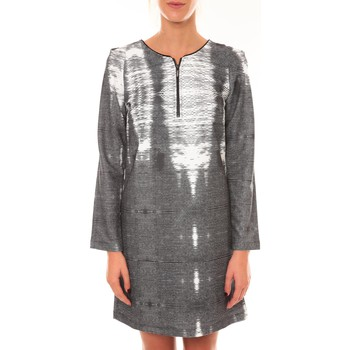 Vêtements Femme Robes courtes Custo Barcelona Robe Charly Grise Gris