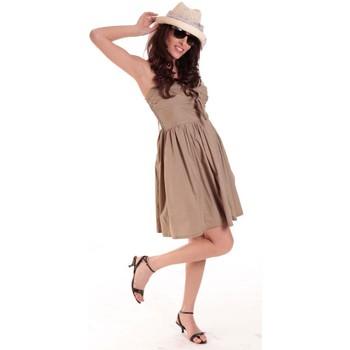 Vêtements Femme Robes courtes Aggabarti ROBE NOEUD 111029 BEIGE Beige