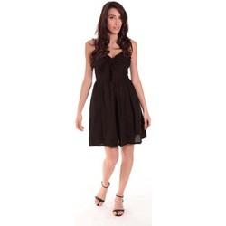 Vêtements Femme Robes courtes Aggabarti ROBE NOEUD 111029 NOIRE Noir