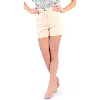 Vêtements Femme Shorts / Bermudas Gat Rimon SHORT BIRKIN PIVOINE Rose