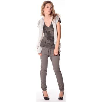 Vêtements Femme Gilets / Cardigans Rich & Royal Rich&Royal Gilet mohair ABBA Gris 13q154/114 Gris