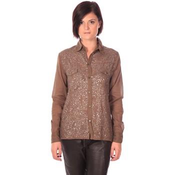 Vêtements Femme Chemises / Chemisiers Charlie Joe Chemise Sonja Kaki Marron