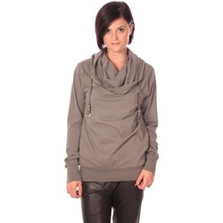Vêtements Femme Pulls Rich & Royal Rich&Royal Sweet Look Taupe Marron
