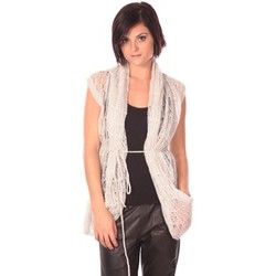 Vêtements Femme Gilets / Cardigans Rich & Royal Rich&Royal Gilet Chine Blanc
