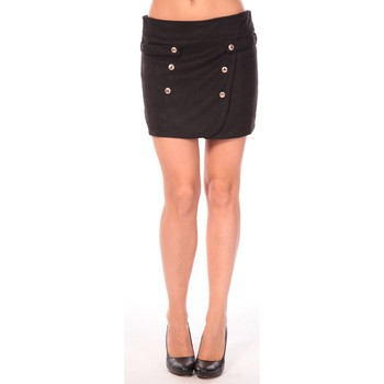 Vêtements Femme Jupes Aggabarti Jupe Ola 112042 Noir Noir