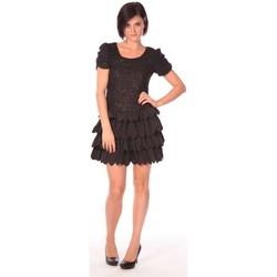 Vêtements Femme Robes courtes Aggabarti Robe Dora 112009 Noir