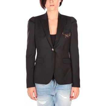 Vêtements Femme Vestes / Blazers Rich & Royal Rich&Royal Blazer Cabri Noir