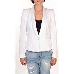 Vêtements Femme Vestes / Blazers Rich & Royal Rich&Royal Blazer Savie Blanc