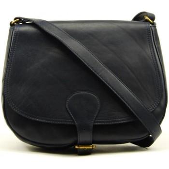 Sacs Femme Sacs Bandoulière Oh My Bag Sac à main cuir femme - Modèle Vintage bleu foncé BLEU FONCE