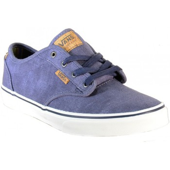 Chaussures Femme Baskets basses Vans Atwood Deluxe chaussures toille Jeans VN000ZSTILN bleu