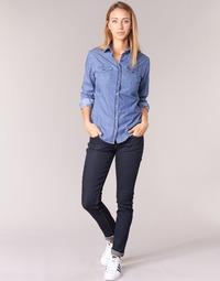 Vêtements Femme Jeans slim Yurban IETOULETTE Bleu brut