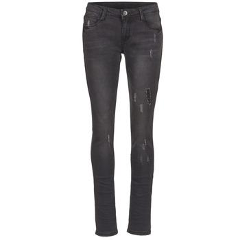 Vêtements Femme Jeans slim Yurban ETOULETTE SLIM Noir