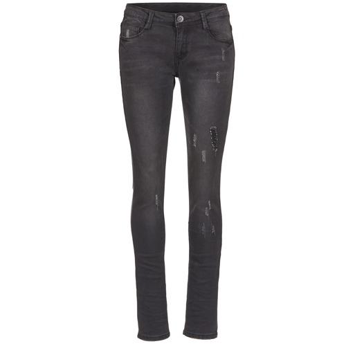 Jeans Yurban ETOULETTE SLIM Noir 350x350