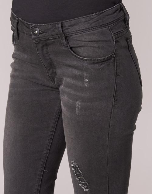 Jeans Yurban Noir Ietoulette Femme Slim SUzGVqMp