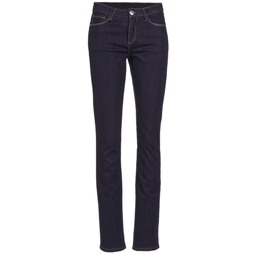Vêtements Femme Jeans droit Yurban IESQUANE Bleu foncé