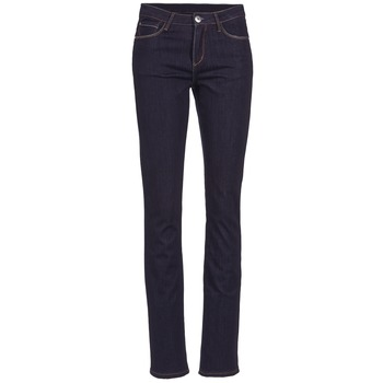 Jeans Yurban ESQUANE DROIT Bleu foncé 350x350