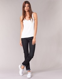 Vêtements Femme Jeans droit Yurban ESQUANE DROIT Noir
