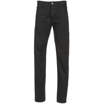 Vêtements Homme Jeans droit Yurban EDABALO DROIT Noir