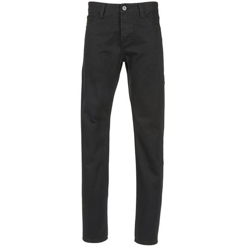 Vêtements Homme Jeans droit Yurban IEDABALO Noir