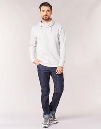 Vêtements Homme Jeans droit Yurban IEDABALO Bleu brut