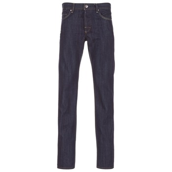Vêtements Homme Jeans droit Yurban EDABALO DROIT Bleu brut