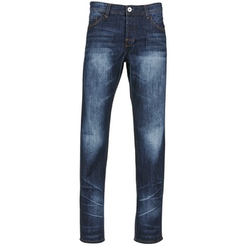 Vêtements Homme Jeans droit Yurban EDABALO DROIT Bleu foncé