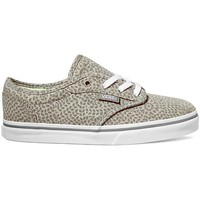 Chaussures Enfant Chaussures de Skate Vans Atwood Low Jersey Gris