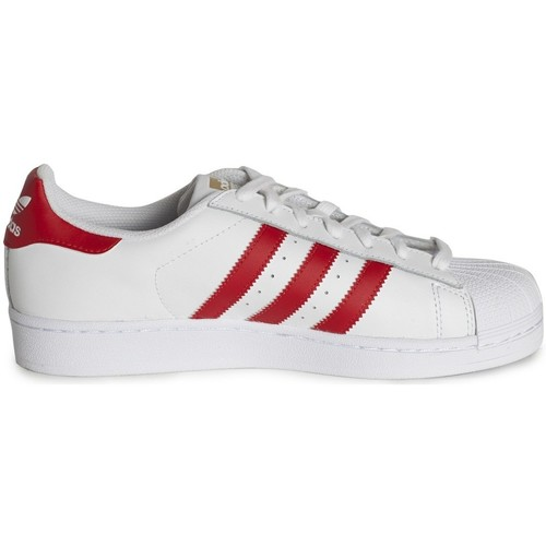 Chaussures Baskets basses adidas Originals Superstar Foundation Blanc