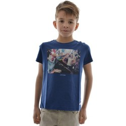 T-shirts manches courtes Japan Rags tee shirts manches courtes  masklubo bleu