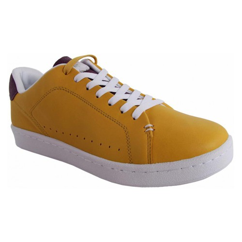 Chaussures Homme Baskets basses Lacoste 27TFM3404 CARNABY NEW CUP Amarillo
