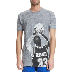 Vêtements Homme T-shirts manches courtes Franklin & Marshall Tee Shirt Franklin&marshall Bibi Gris Homme Gris