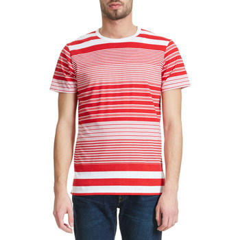 T-shirts manches courtes Edwin Tee Shirt  Rouge Homme