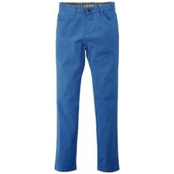 Vêtements Garçon Pantalons 5 poches Billabong Pantalon  Harris Color Boy - Washed Royal Bleu