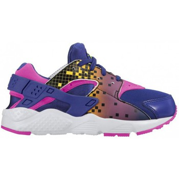 Chaussures Enfant Baskets mode Nike Huarache Run Print Baskets Enfants (PS) - 704947-500