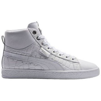 Chaussures Femme Baskets mode Puma Chaussures  Basket Mid Exotic Blanc Blanc